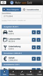 Haushaltsbuch-app