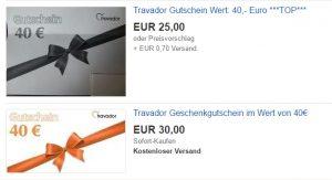 ebay travador