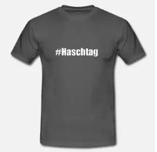 haschtag tshirt