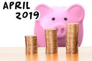 haushaltsbuch 2019 april