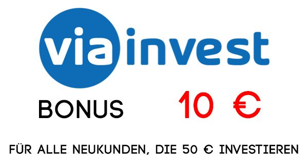 ViaInvest Bonus