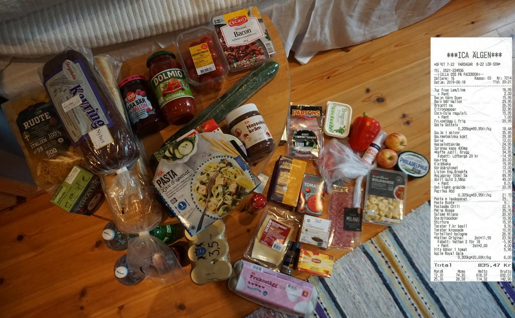 kosten schweden
