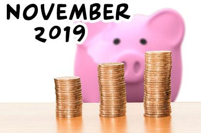 ausgaben november