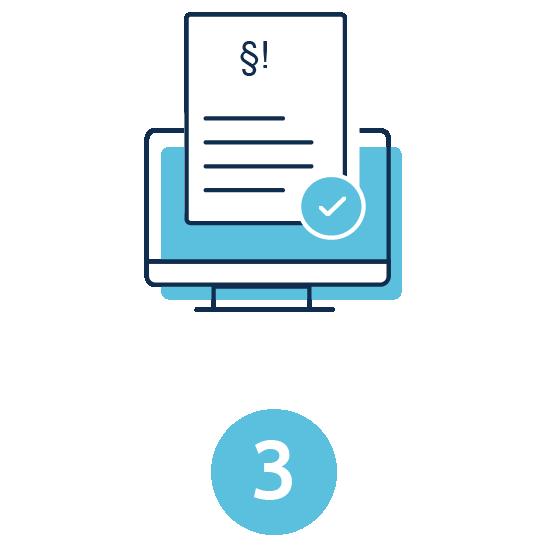 Angebot checken & Rechtsanwalt online beauftragen